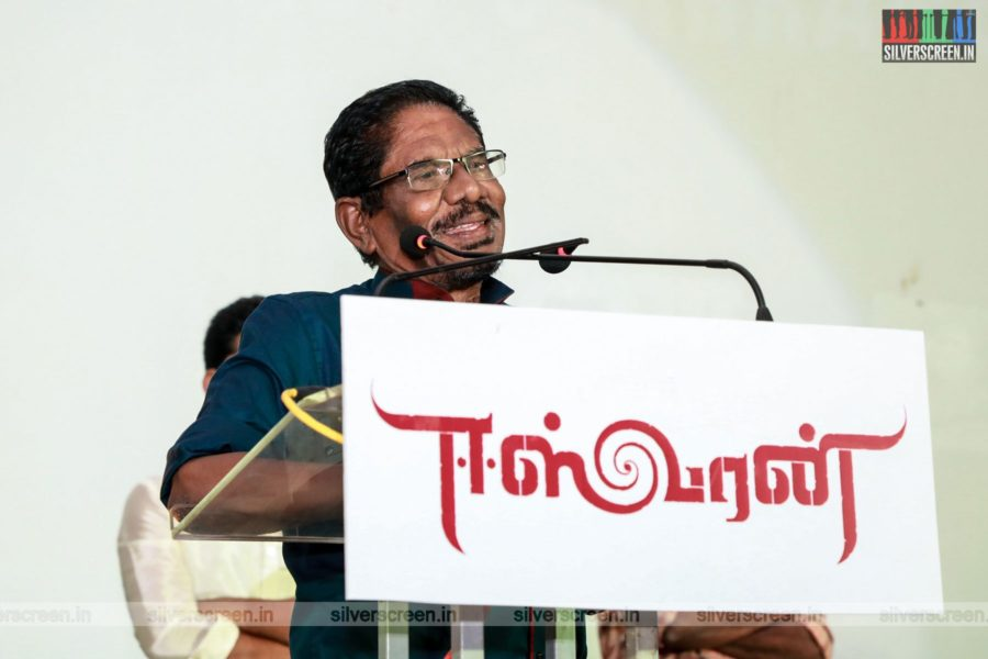 P Bharathiraja At The Eeswaran Audio Launch
