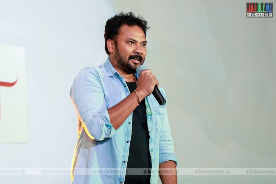 Celebrities At The Eeswaran Audio Launch