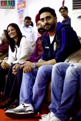 Actor Abhishek Bachchan at Sathyabama University