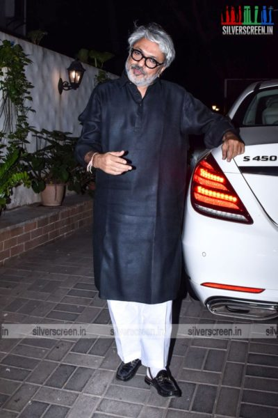 Sanjay Leela Bhansali At His Birthday Party