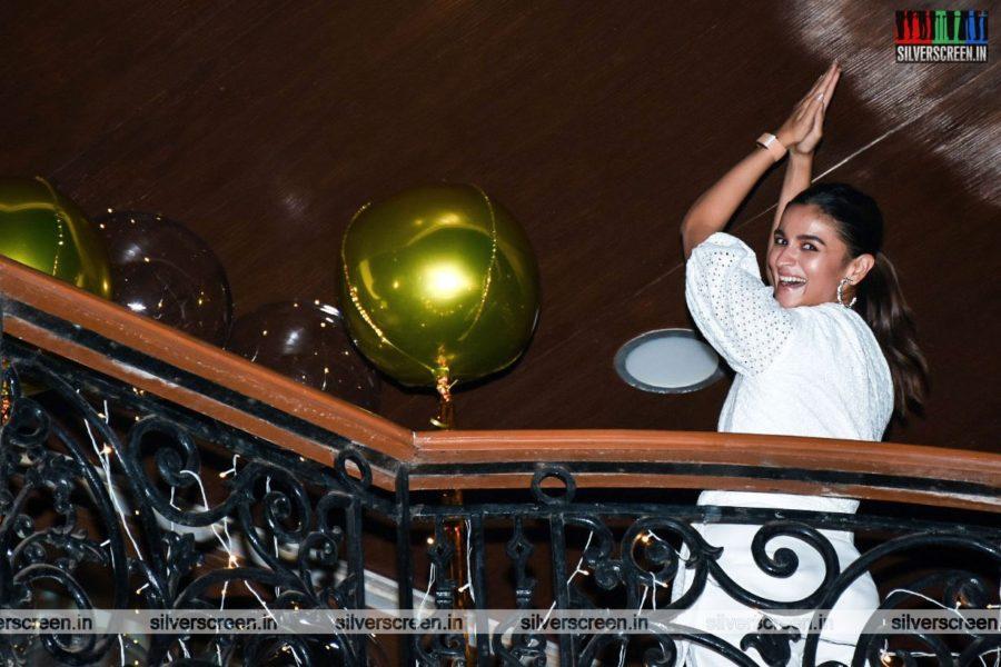 Alia Bhatt At Sanjay Leela Bhansali's Birthday Party