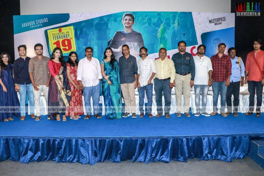 Anandhi At The Kamali From Nadukkaveri Press Meet
