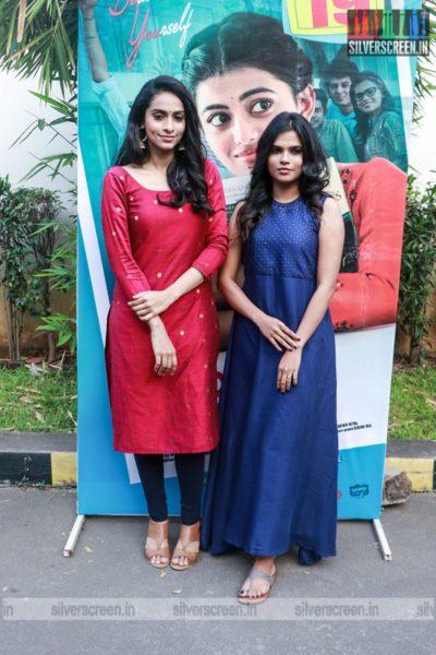 Celebrities At The Kamali From Nadukkaveri Press Meet