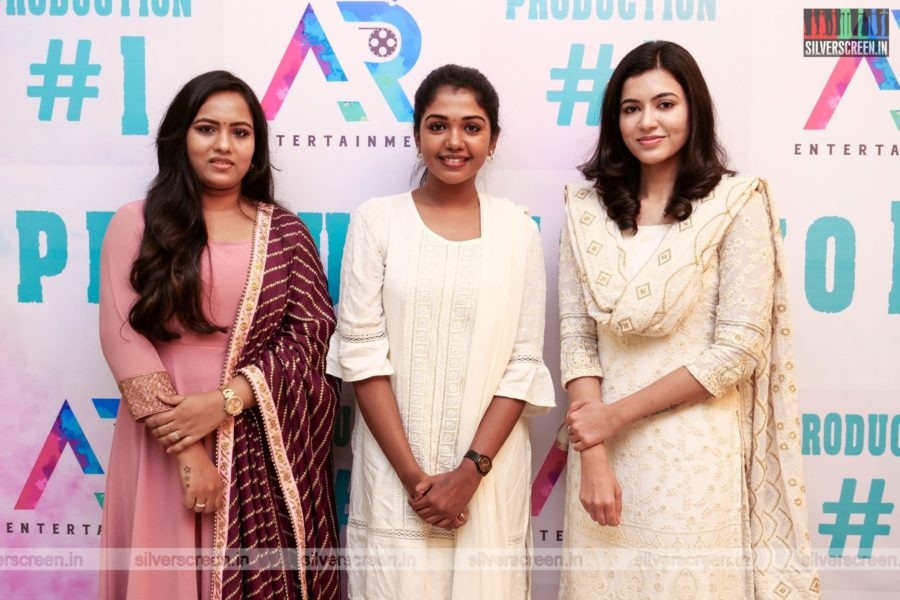 Reyaa, Riythvika At A Movie Launch