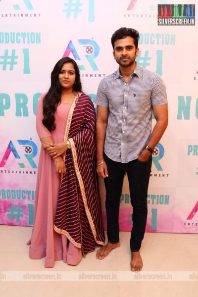 Ashok Selvan, Reyaa At A Movie Launch