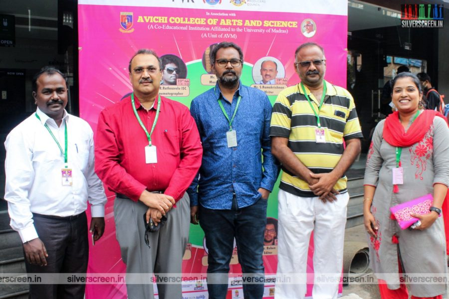Audiographer T Udaya Kumar At The 3rd Day Of 18th Chennai International Film Festival
