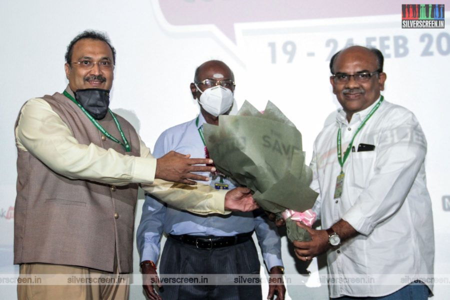 Celebrities At The 2nd Day of 18th Chennai International Film Festival