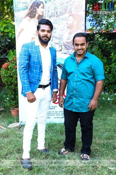 Celebrities At The Naanum Single Thaan Press Meet