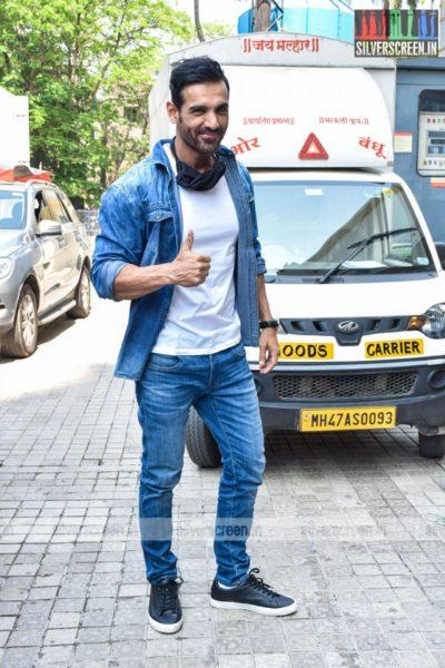 John Abraham at the Mumbai Saga Trailer Launch