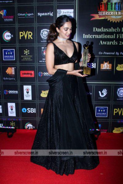 Kiara Advani At The Dadasaheb Phalke International Film Festival Awards 2021