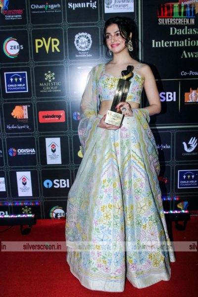 Divya Khosla Kumar At The Dadasaheb Phalke International Film Festival Awards 2021