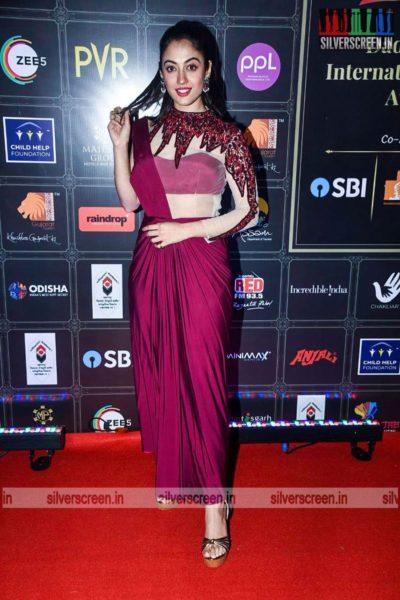 Aditi Sharma At The Dadasaheb Phalke International Film Festival Awards 2021