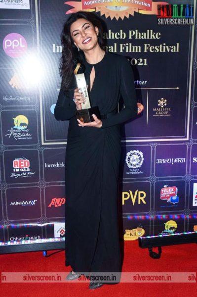 Sushmita Sen At The Dadasaheb Phalke International Film Festival Awards 2021