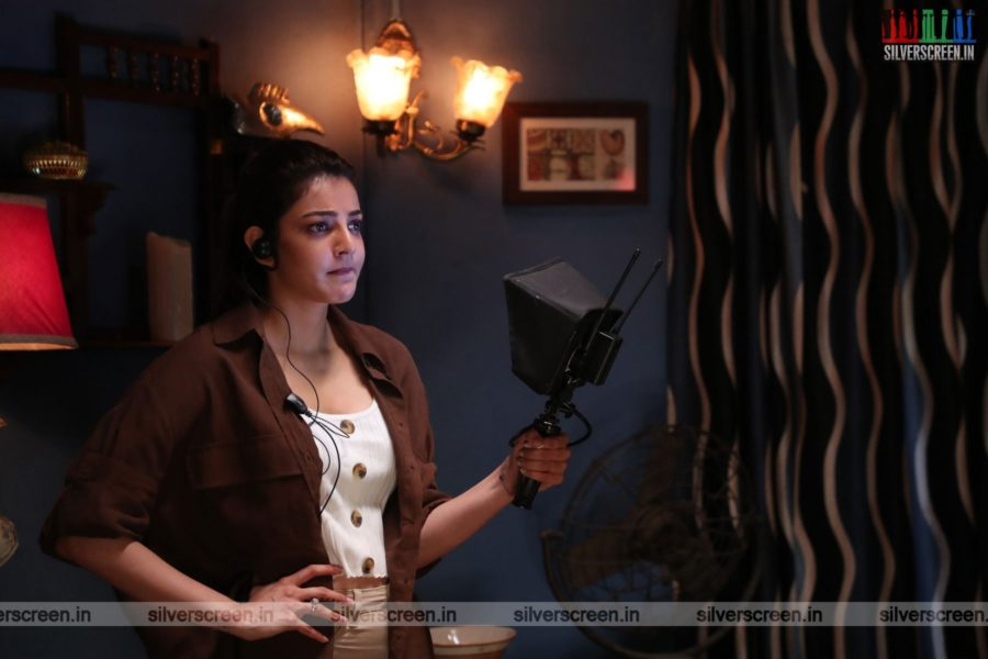 Live Telecast Web Series Stills Starring Kajal Aggarwal