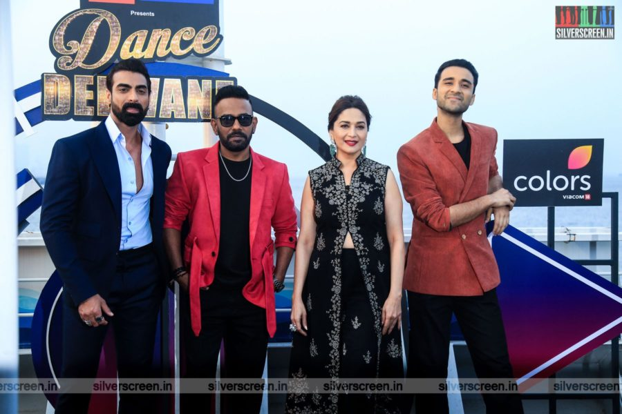 Madhuri Dixit At The Launch Of Dance Deewane