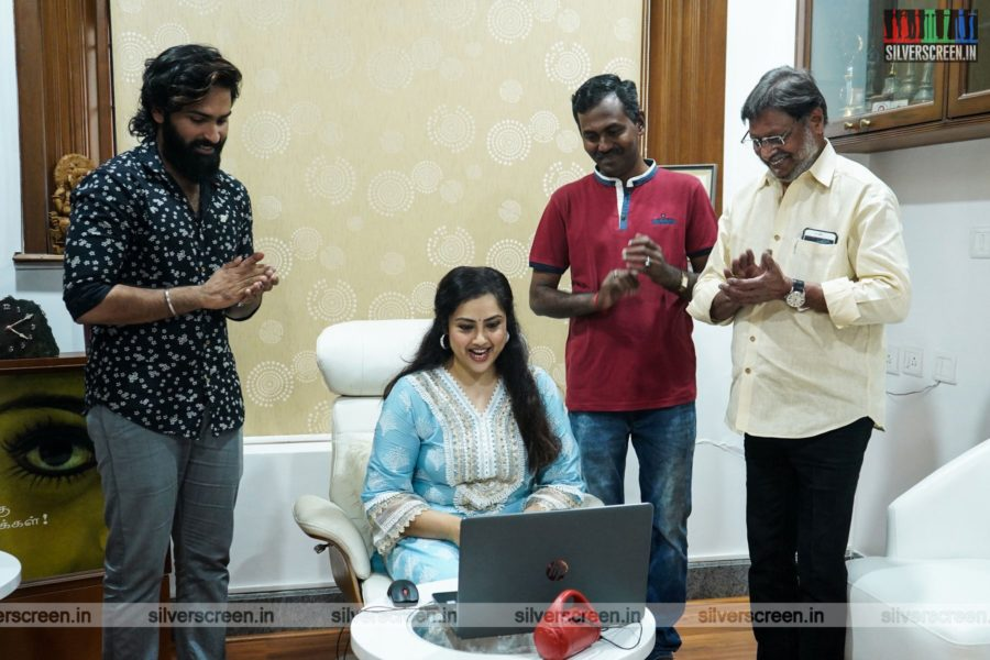 Meena At The Mayathirai Single Track Launch