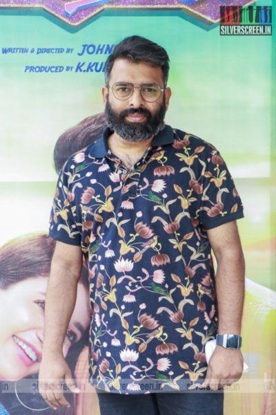 Santhosh Narayanan At The Parris Jeyaraj Press Meet