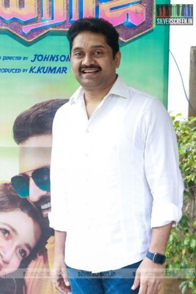 Johnson At The Parris Jeyaraj Press Meet