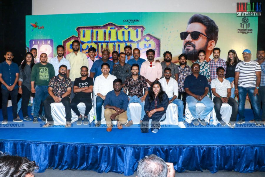 N Santhanam At The Parris Jeyaraj Press Meet