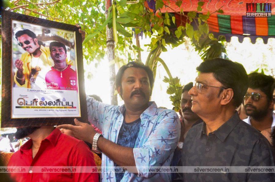 K Bhagyaraj At The 'Pollappu' Movie Launch
