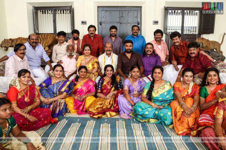 Rajavamsam Movie Stills Starring Sasikumar, Nikki Galrani