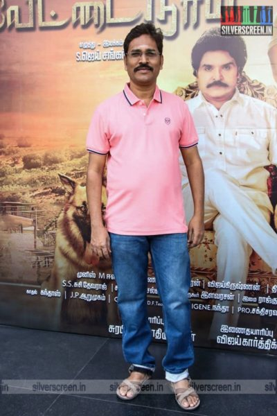 Celebrities At The Vettai Naai Audio Launch