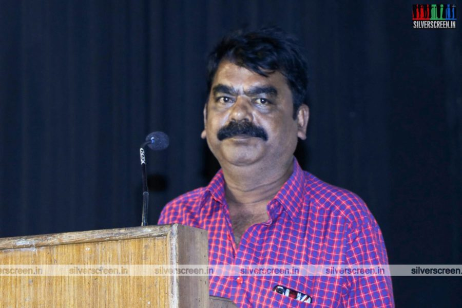 Celebrities At The Sangathalaivan Press Meet