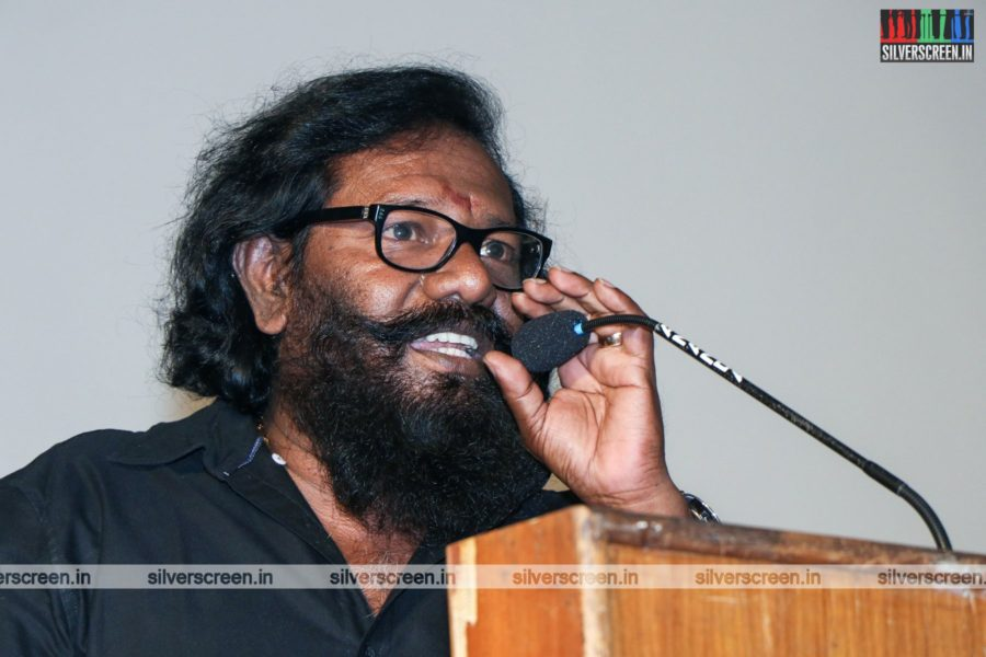 Karunas At The Sangathalaivan Press Meet