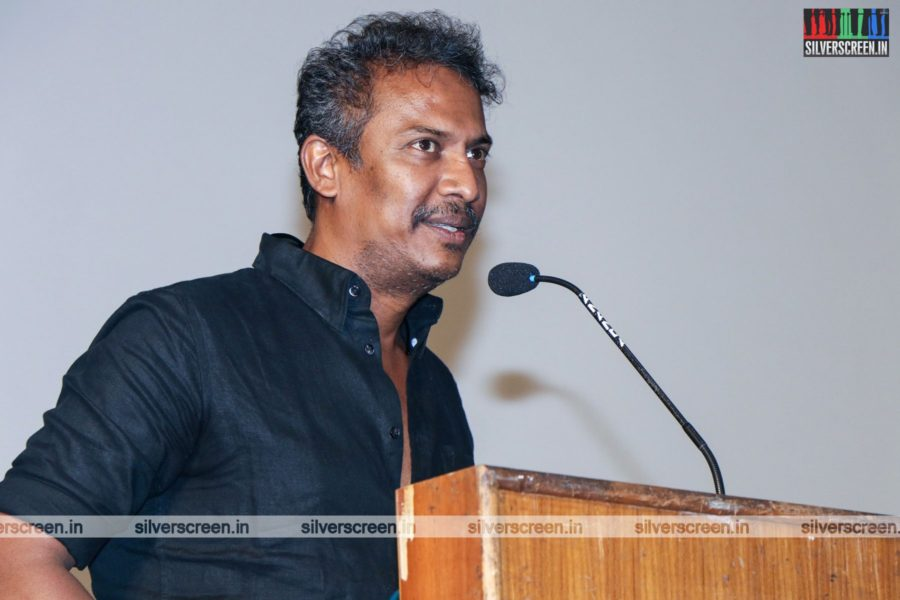 Samuthirakani At The Sangathalaivan Press Meet