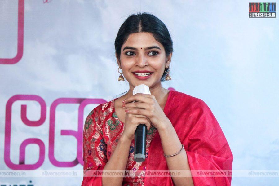 Sanchita Shetty At The Azhagiye Kanne Movie Launch
