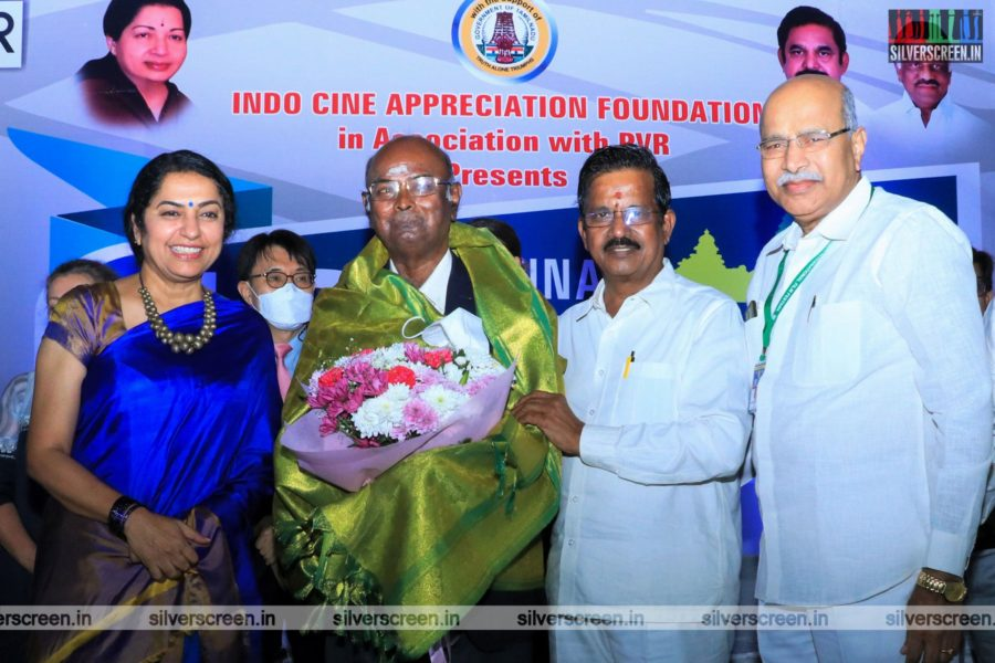 Suhasini Mani Ratnam At The 18th Chennai International Film Festival Inaugural Function