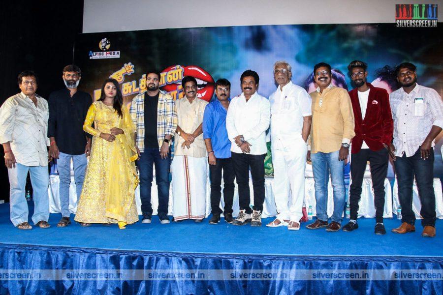 Elakiya At The Nee Sudathaan Vandhiya Movie Launch