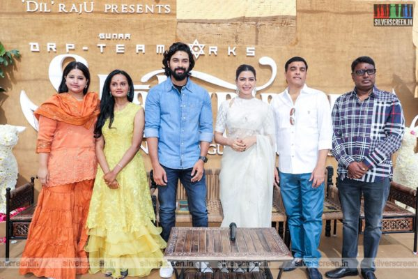 Samantha Akkineni At The Shakuntalam Movie Launch