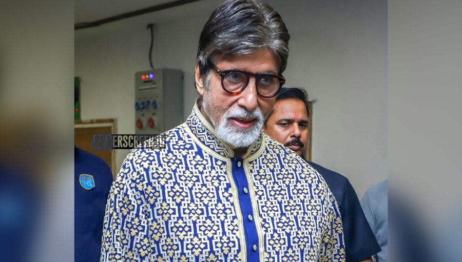Abitabh Bachchan At Abu Jani And Sandeep Khosla's Fashion Show