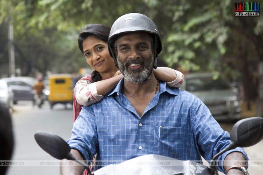 Anbirkiniyal Movie Stills Starring Arun Pandian, Keerthi Pandian