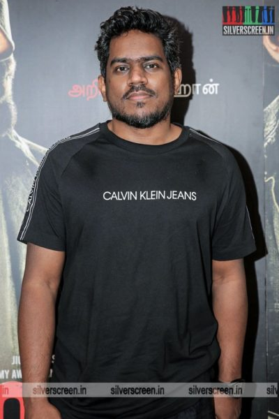 Yuvan Shankar Raja At The 99 Songs Audio Launch