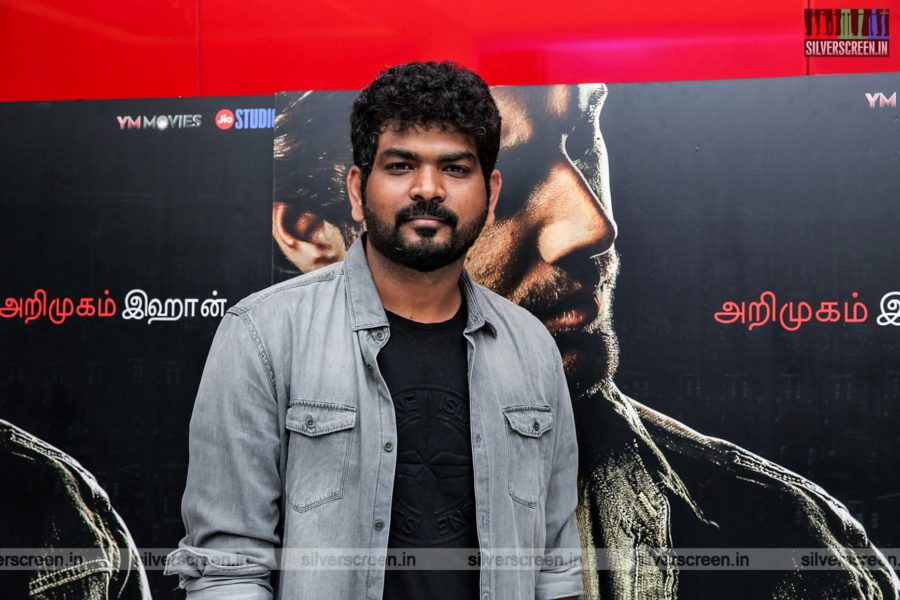 Vugnesh Shivn At The 99 Songs Audio Launch