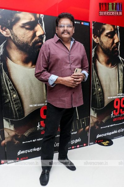 KS Ravikumar At The 99 Songs Audio Launch
