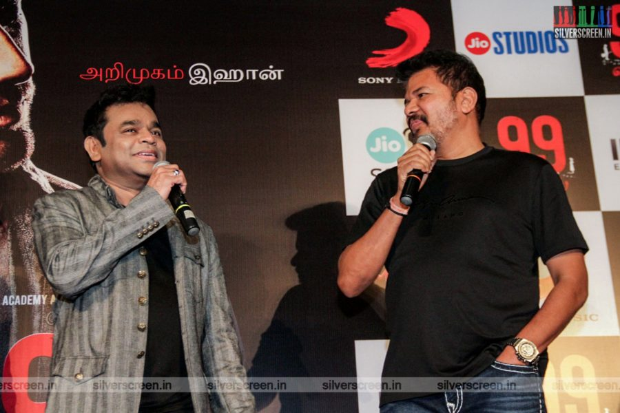 AR Rahman, Shankar At The 99 Songs Audio Launch