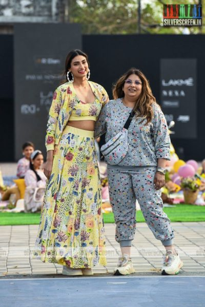 Athiya Shetty Walks The Ramp For Payal Singhal At The Lakme Fashion Week 2021