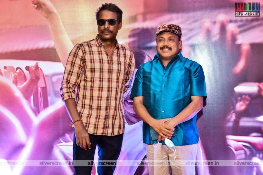 Samuthirakani, Thambi Ramaiah At The Thalaivi Trailer Launch In Chennai