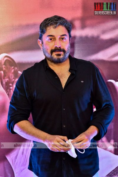 Arvind Swami At The Thalaivi Trailer Launch In Chennai
