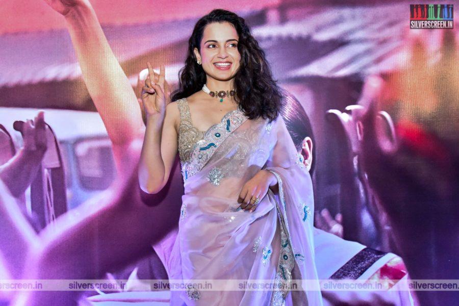 Kangana Ranaut At The Thalaivi Trailer Launch In Chennai