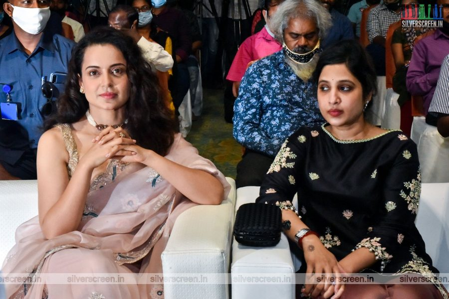 Kangana Ranaut At The Thalaivi Trailer Launch In Chennai
