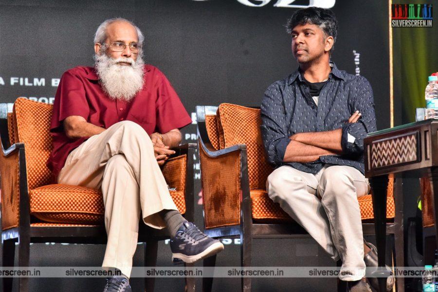 Madhan Karky At The Thalaivi Trailer Launch In Chennai
