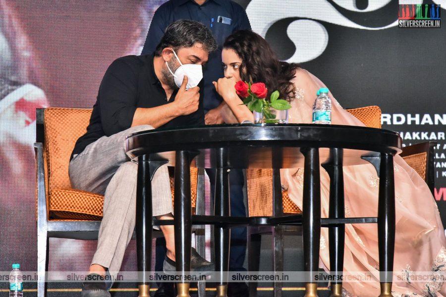 Director Vijay At The Thalaivi Trailer Launch In Chennai
