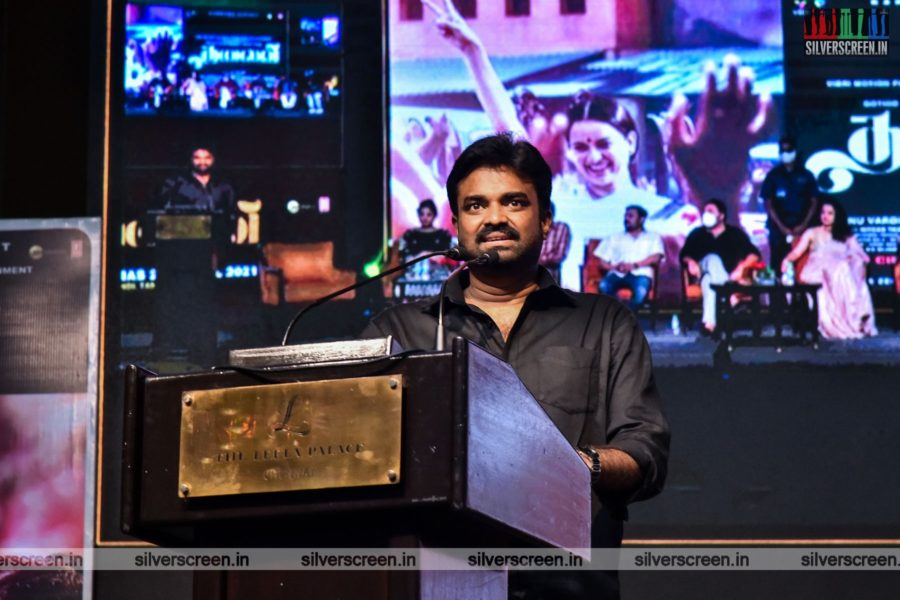 Director Vijay At The Thalaivi Trailer Launch In Chennai