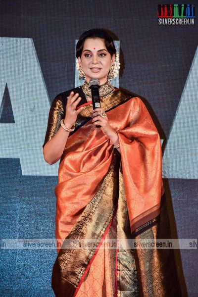 Kangana Ranaut At The Thalaivi Trailer Launch In Mumbai