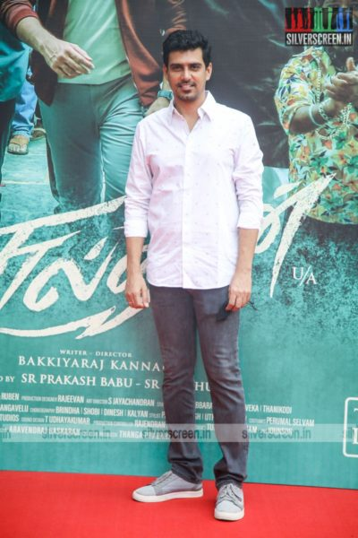 SR Prabhu At The Sulthan Pre-Release Event