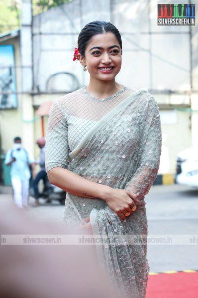 Rashmika Mandanna At The Sulthan Pre-Release Event